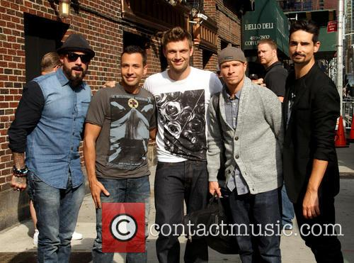 Aj Mclean, Howie Dorough, Nick Carter, Brian Littrell and Kevin Richardson Backstreet Boys 4