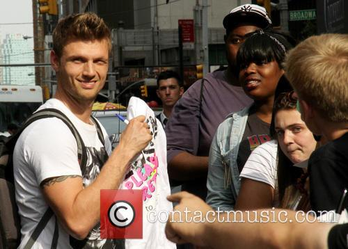 Nick Carter and Backstreet Boys 4