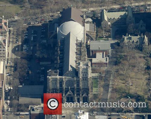 An aerial view of the Cathedral Church of...