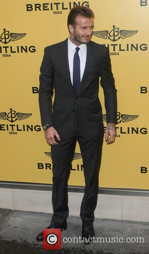 david beckham breitling london store launch 3737734