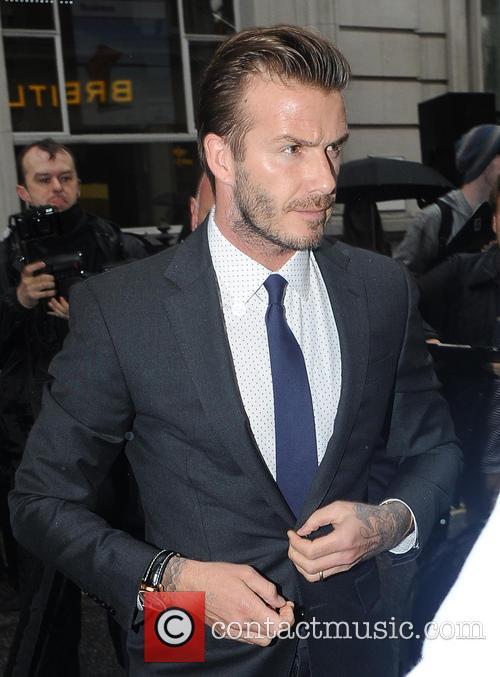 David Beckham 38