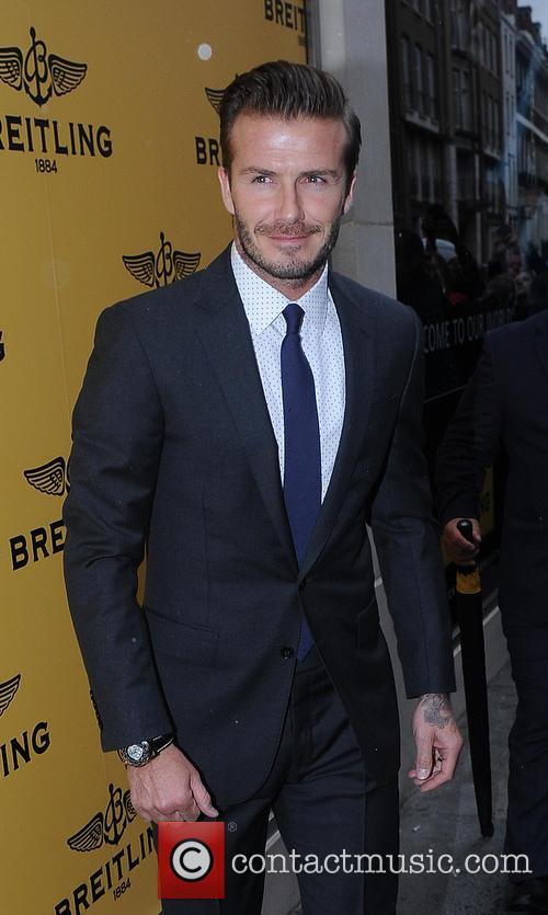 David Beckham 40