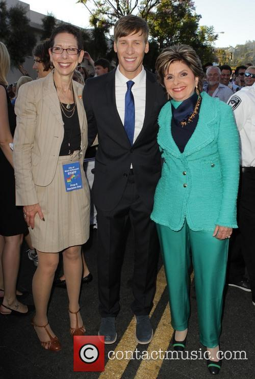 Abbe Land, Dustin Lance Black and Gloria Allred 5