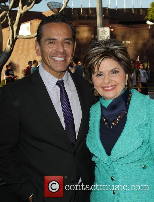 La Mayor Antonio Villaraigosa and Gloria Allred 2