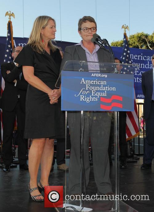 West Hollywood Rally to Celebrate the Supreme Courts'...