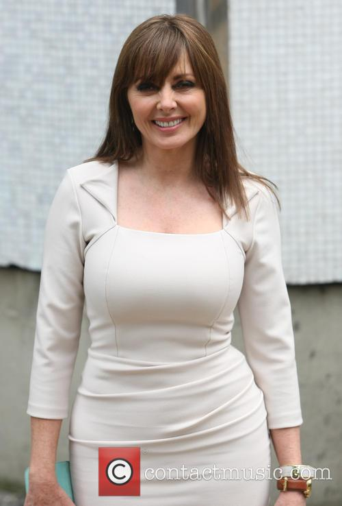 carol vorderman celebrities leaving the itv studios 3737481