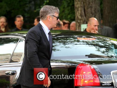 Alec Baldwin Gandolfini Funeral