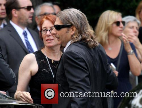The funeral service for Emmy award-winning Sopranos actor...