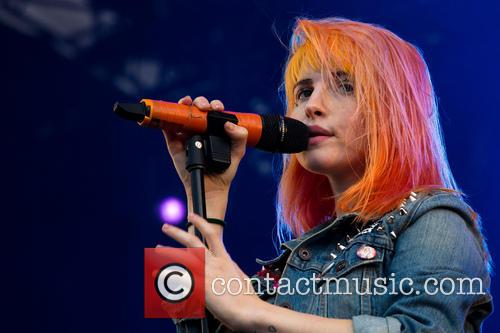 Hayley Williams and Paramore 4