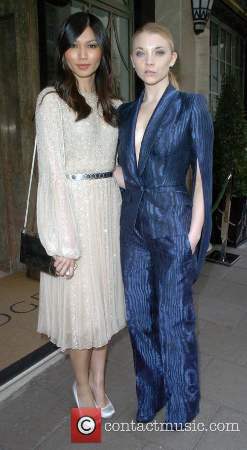 Gemma Chan and Natalie Dormer 2