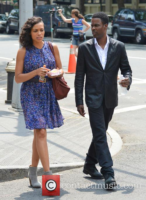 Rosario Dawson and Chris Rock 2