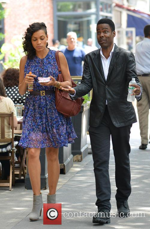 Rosario Dawson and Chris Rock 3