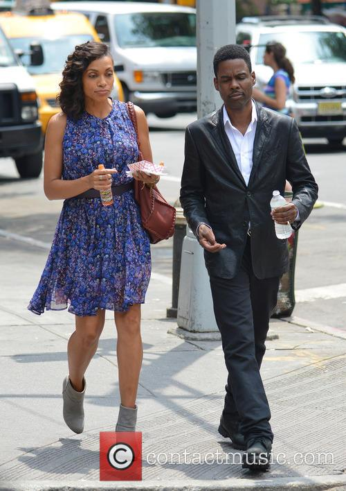 Rosario Dawson and Chris Rock 4