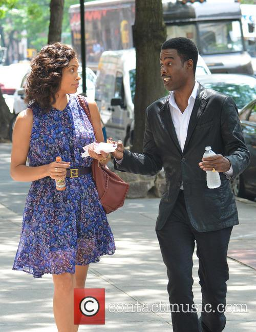 Rosario Dawson and Chris Rock 5