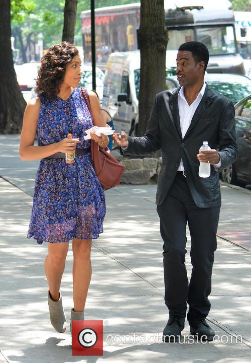 Rosario Dawson and Chris Rock 6