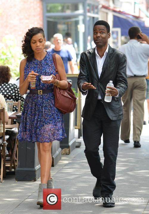 Rosario Dawson and Chris Rock 7
