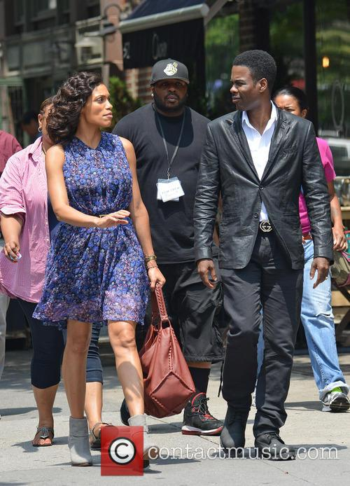Rosario Dawson and Chris Rock 1