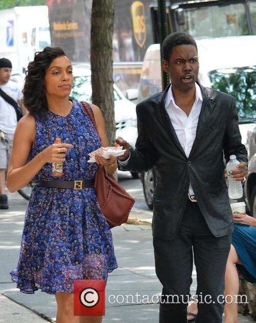 Rosario Dawson and Chris Rock 10