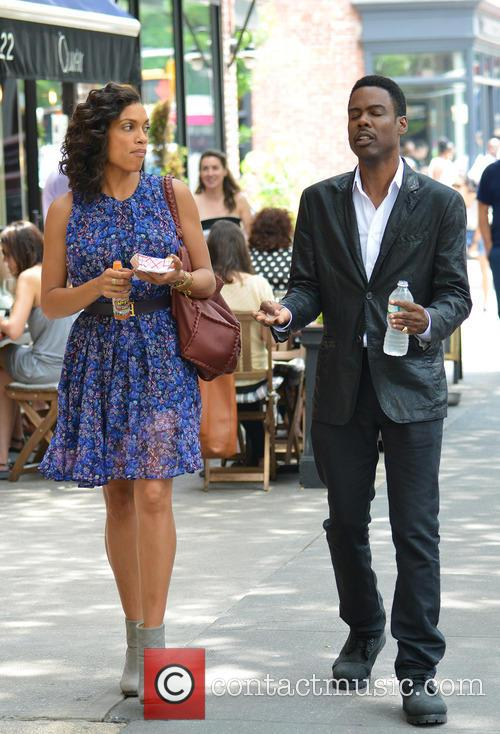 Rosario Dawson and Chris Rock 11
