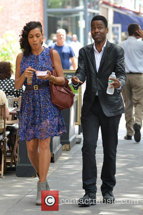Rosario Dawson and Chris Rock 12