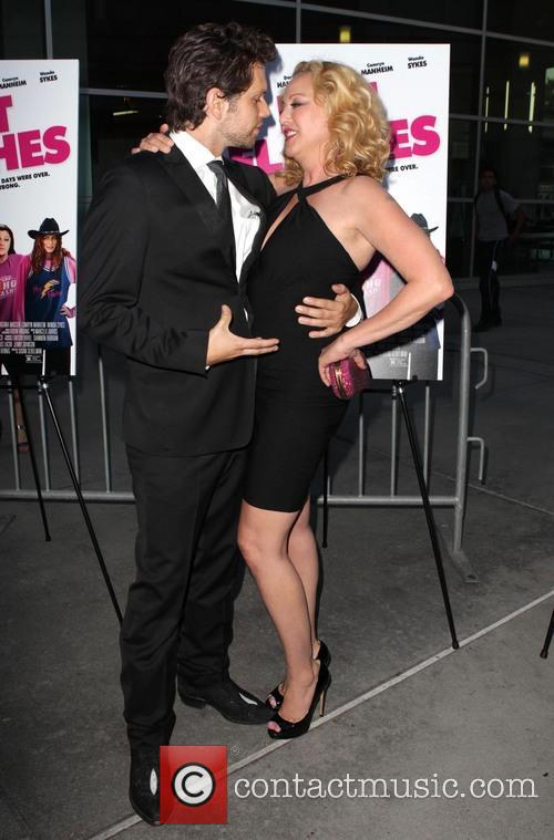 Nick Holmes and Virginia Madsen 1