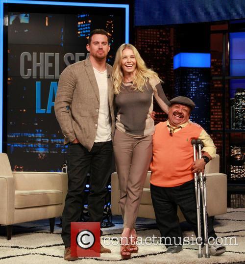 Channing Tatum, Chelsea Handler and Chuy Bravo 2