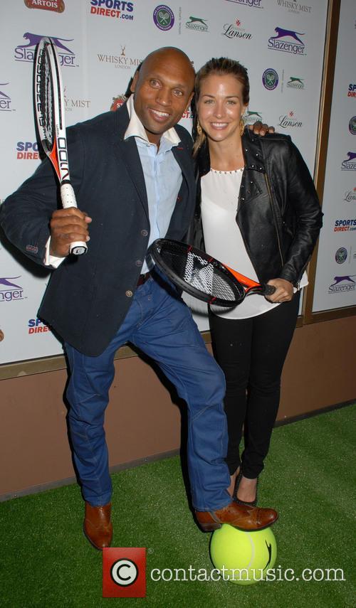 Mark Smith and Gemma Atkinson 1