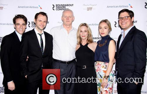 Steven Levenson, Christopher Denham, David Morse, Lisa Emery, Sarah Goldberg and Rich Sommer 1