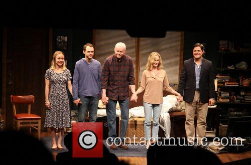 Sarah Goldberg, Christopher Denham, David Morse, Lisa Emery and Rich Sommer 3