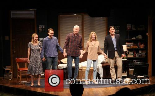 Sarah Goldberg, Christopher Denham, David Morse, Lisa Emery and Rich Sommer 6