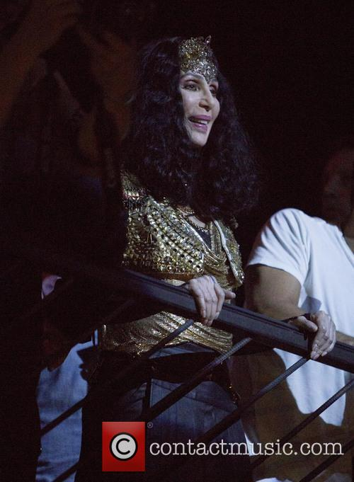 Cher makes an appearance at the Marquee Nightclub