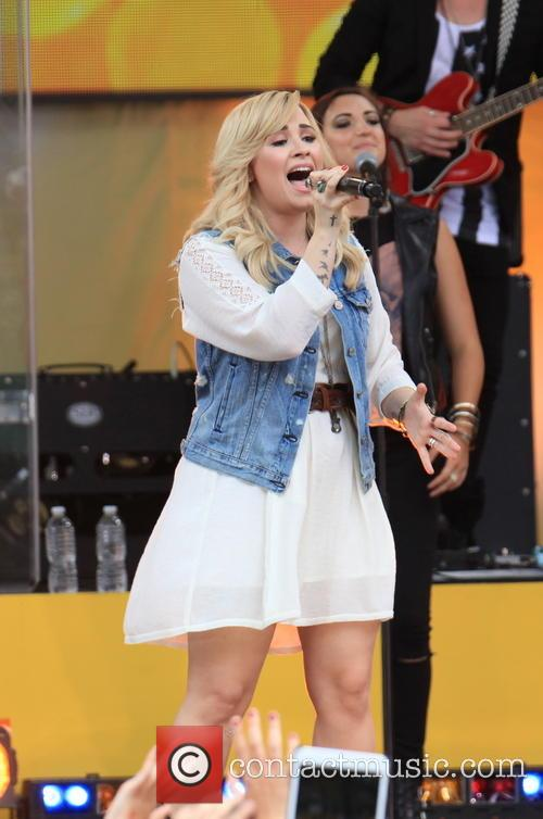 Demi Lovato, Rumsey Play Field Central Park, Good Morning America, Central Park