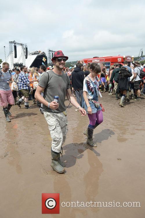 The 2013 Glastonbury Festival - Day 1 -...