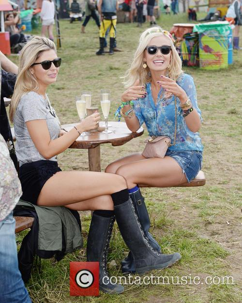 The, Glastonbury Festival, Day and Celebrity Sightings 2
