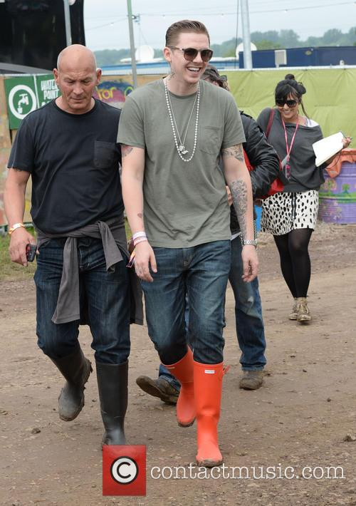 The, Glastonbury Festival, Day and Celebrity Sightings 3