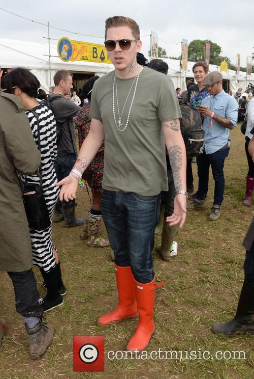 The, Glastonbury Festival, Day and Celebrity Sightings 5