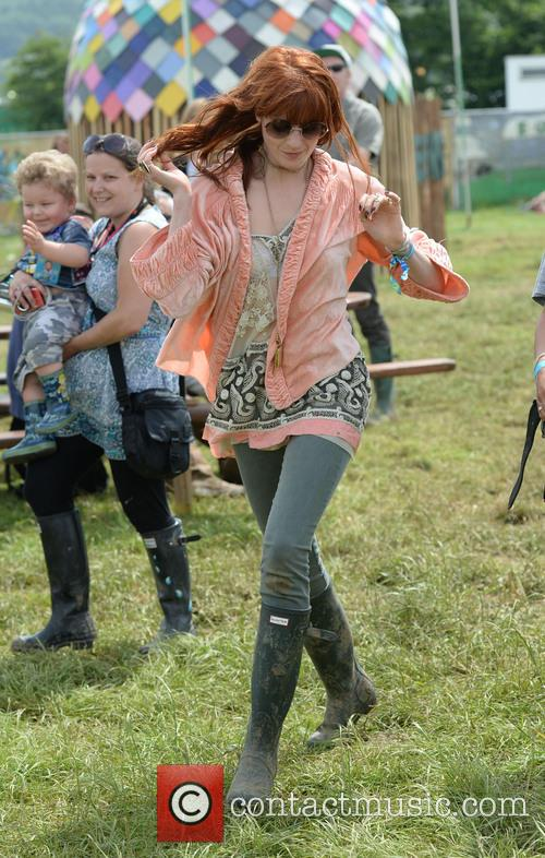 The, Glastonbury Festival, Day and Celebrity Sightings 6