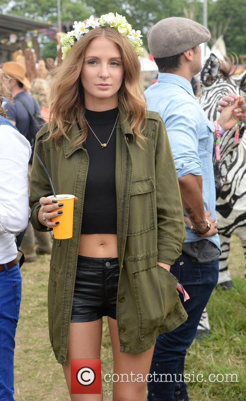 The, Glastonbury Festival, Day and Celebrity Sightings 7