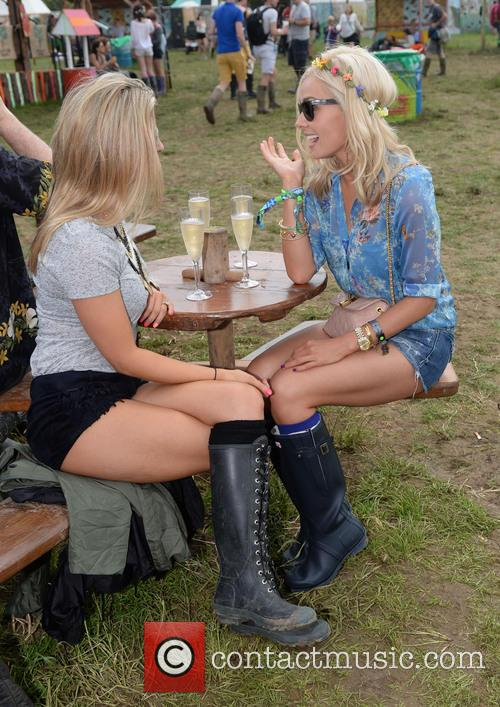 The, Glastonbury Festival, Day and Celebrity Sightings 1