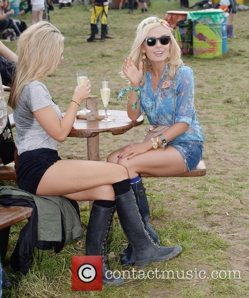 The, Glastonbury Festival, Day and Celebrity Sightings 10