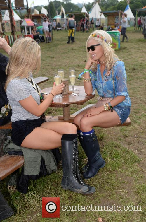 The, Glastonbury Festival, Day and Celebrity Sightings 12