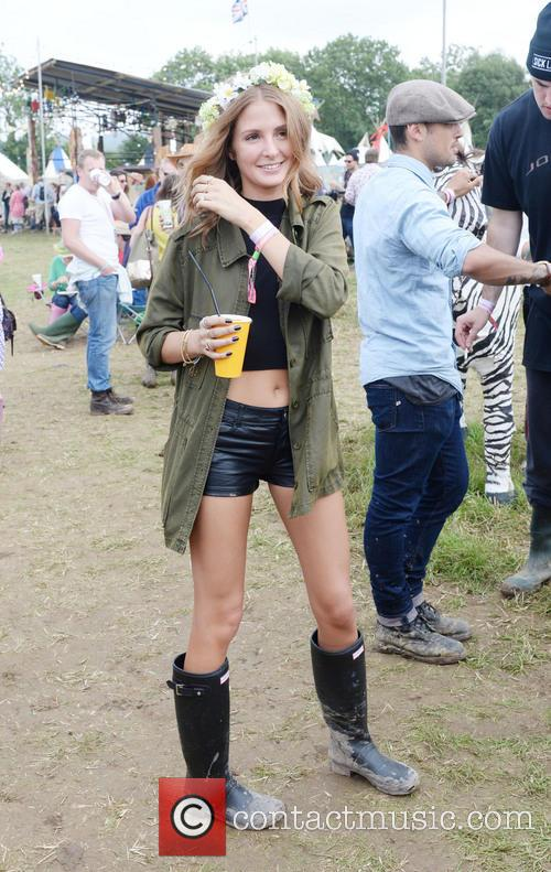 The, Glastonbury Festival, Day and Celebrity Sightings 14
