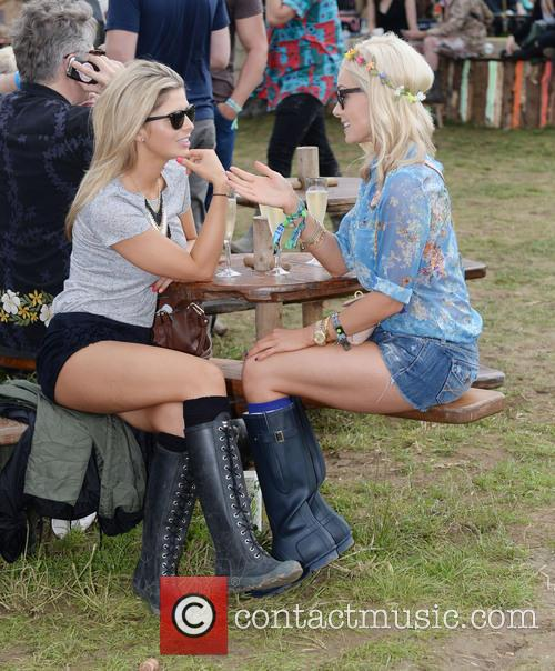The, Glastonbury Festival, Day and Celebrity Sightings 17
