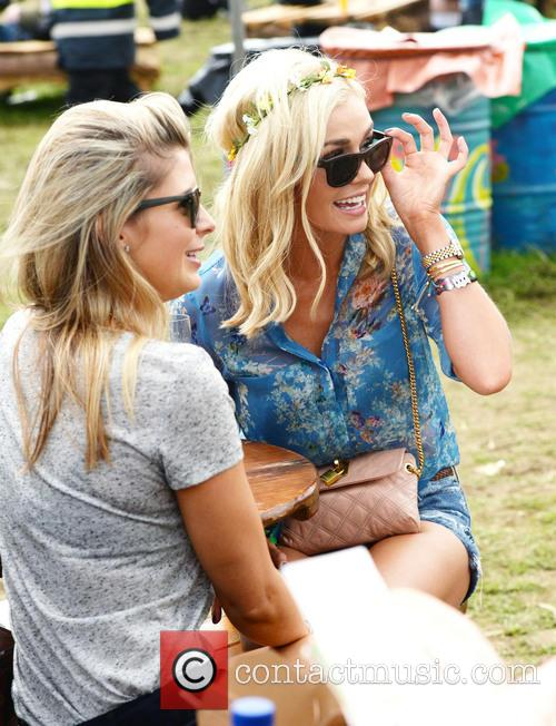 The, Glastonbury Festival, Day and Celebrity Sightings 21