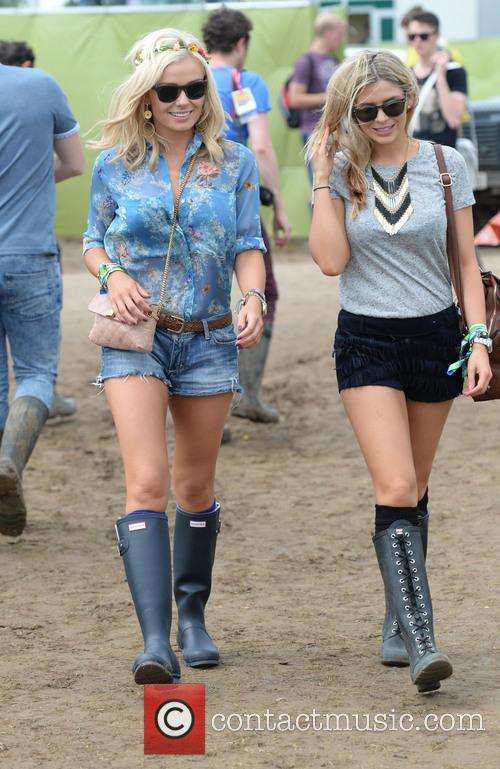 The, Glastonbury Festival, Day and Celebrity Sightings 22