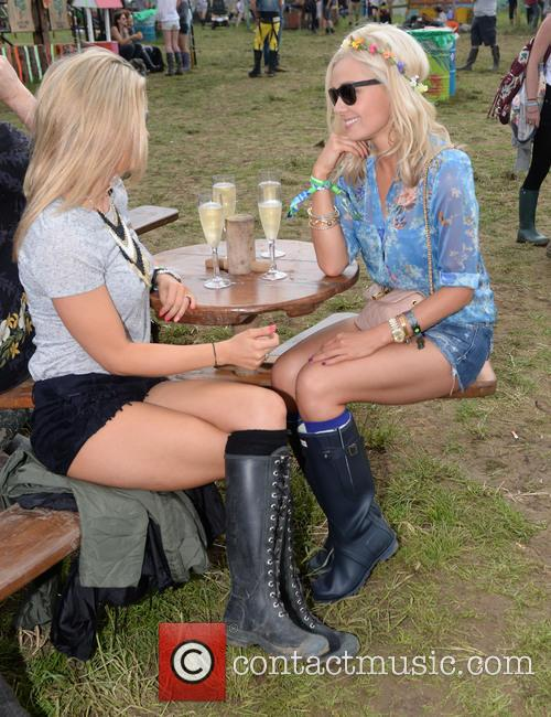 The, Glastonbury Festival, Day and Celebrity Sightings 23