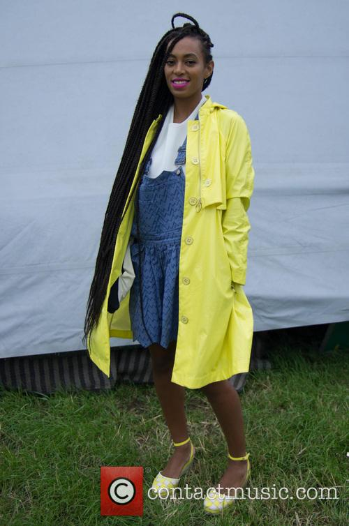 Solange Knowles Glastonbury Yellow Coat