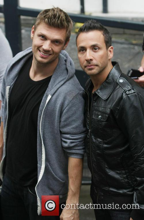 Nick Carter, Howie Dorough and The Back Street Boys