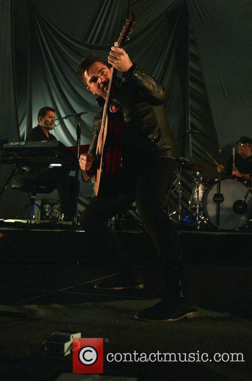 Juanes performs live in concert