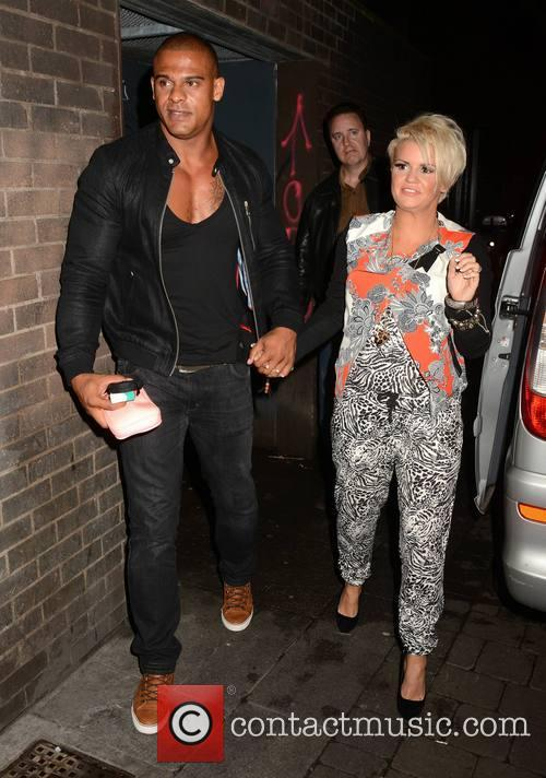 Kerry Katona performs at The George